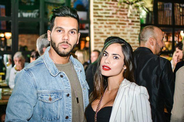 José Reynoso y Jennifer Zapata
