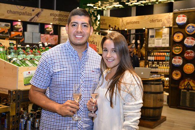 Juan Barragán y Carolina López.