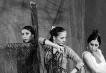 Julia flamenca es un espectáculo fiestero y jondo inspirado en la tradición y la interpretación de las emociones profundas del arte flamenco.