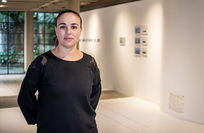 Manuela Velásquez  directora galería Lokkus