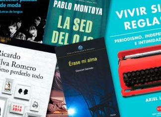 Libros recomendados para Lecturas crossover. Ariel Levy, Giovanni Quessep, Efraín Villanueva, Pablo Montoya, Javier Marías y Ricardo Silva Romero