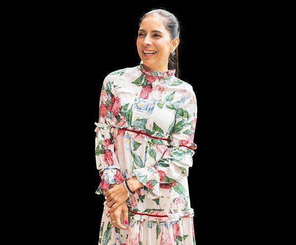 Lina Hinestroza presentó su fundación Alma Rosa, con la cual quiere seguir enviando el mensaje de prevención del cáncer de mama.