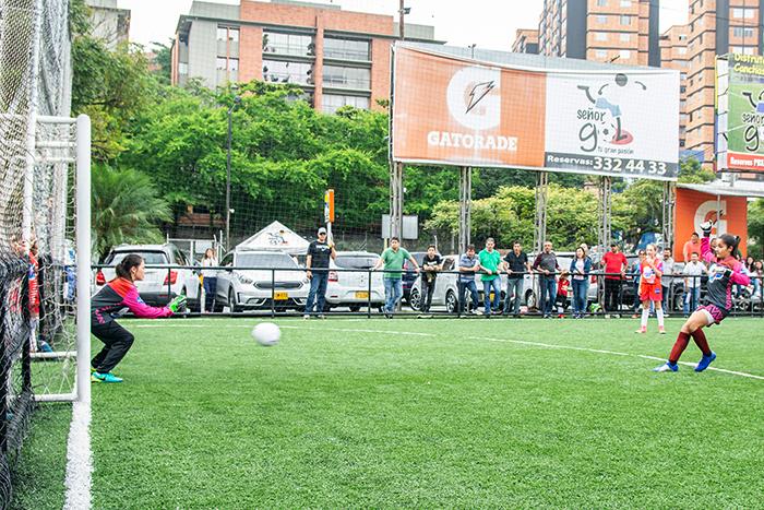 La Copa Nosotras se juega en dos categorías: infantil y juvenil.