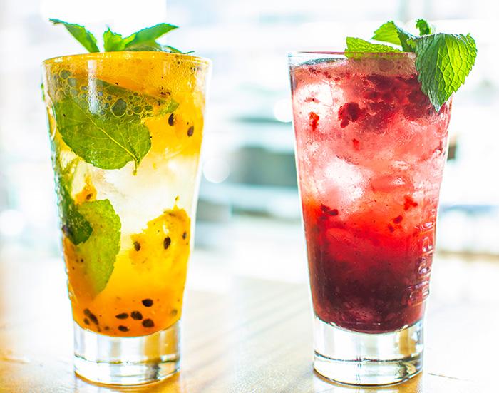 Mezclar soda con frutas es hoy una tendencia.