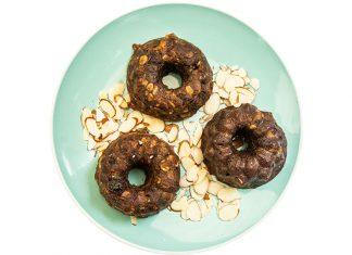Muffin de zuquini y granola