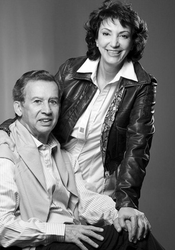 Álvaro Estrada y Olga Clemencia La Pareja