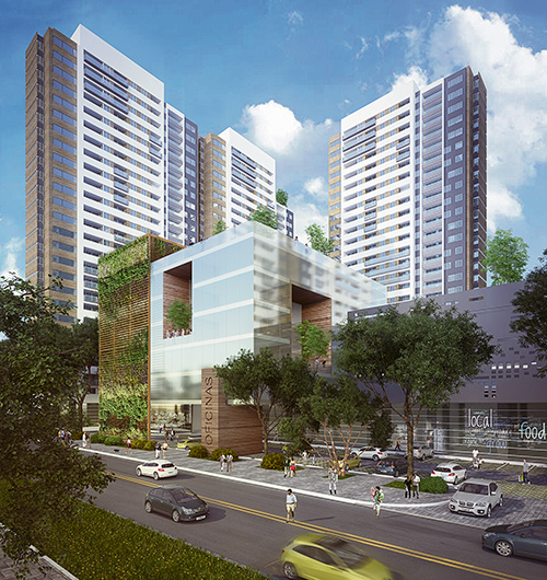 proyecto inmobiliario La Rivière