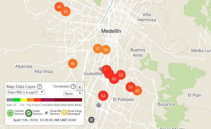 PurpleAir es una plataforma colaborativa para monitorear la calidad del aire