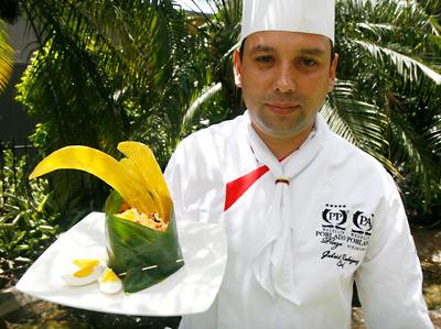 El chef bogotano Gabriel Rodríguez