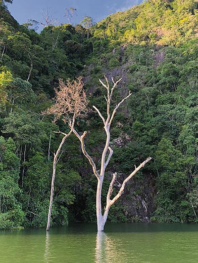 Represa de Hidromiel, en Caldas.