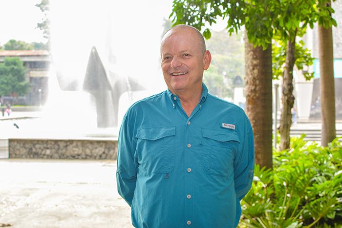 Santiago Ortiz. Director museo U. de A. Foto cortesía de la entidad.