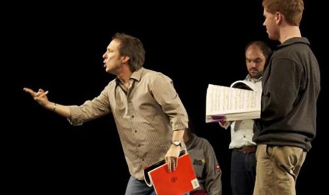 Theatre workshop for language