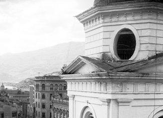 Torre de la iglesia de La Candelaria / Juan Kalb (1953)