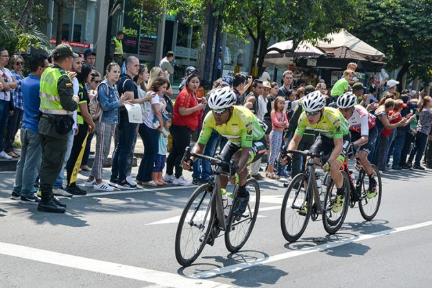 Cuarta etapa del Tour Colombia 2.1 por Medellín.