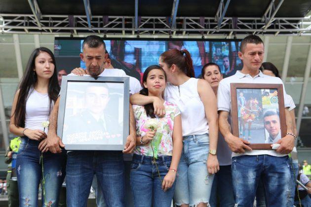 Colombia marcha contra el terrorismo