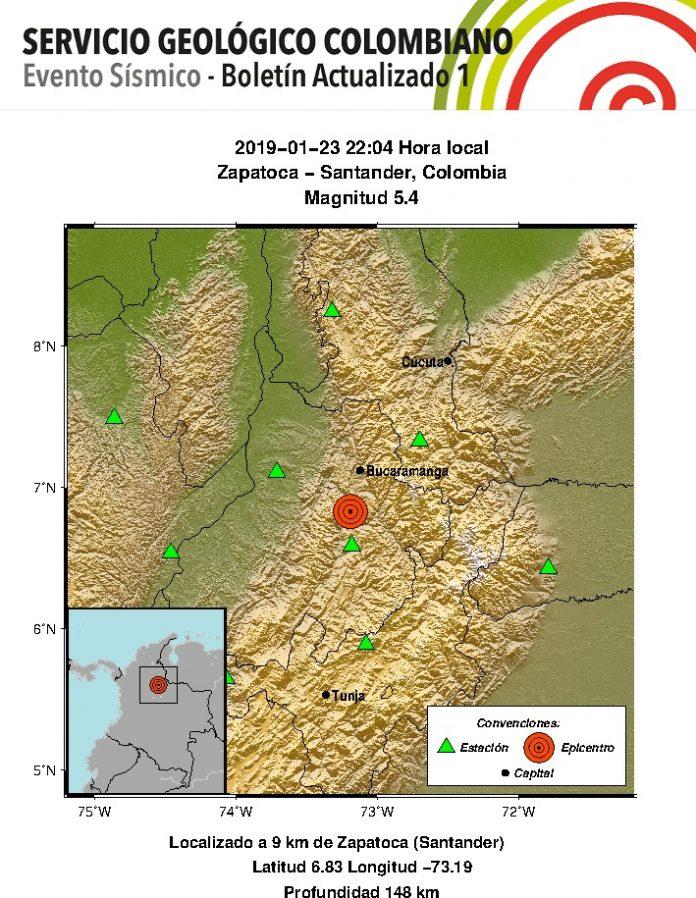 sismo enero 23