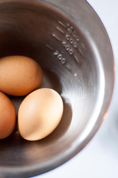 Albóndigas en salsa de huevo y limón