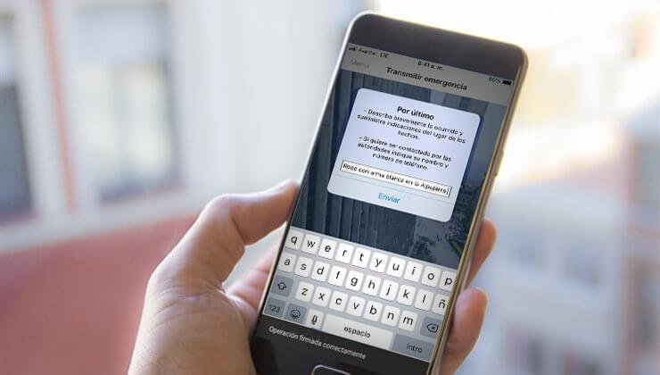 App TePillé de la Alcaldía de Medellín permite denunciar atracos con fotos y videos.