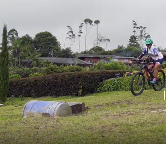 obstáculos en la bicicleta