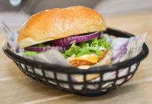 Hamburguesa de cangrejo y camarón Crangburger