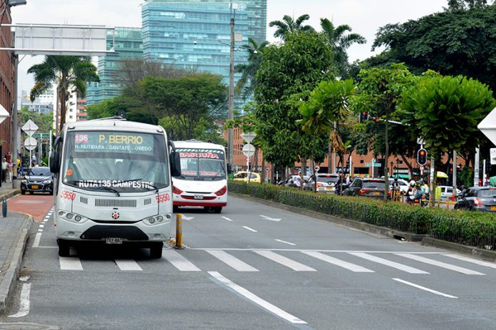 Carril solo bus