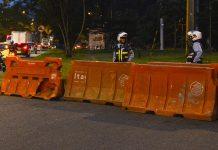 Cierre parcial del carril derecho de la carrera 48C -paralela a la sede del Politécnico Jaime Isaza Cadavid-