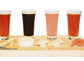Combinar quesos y cervezas