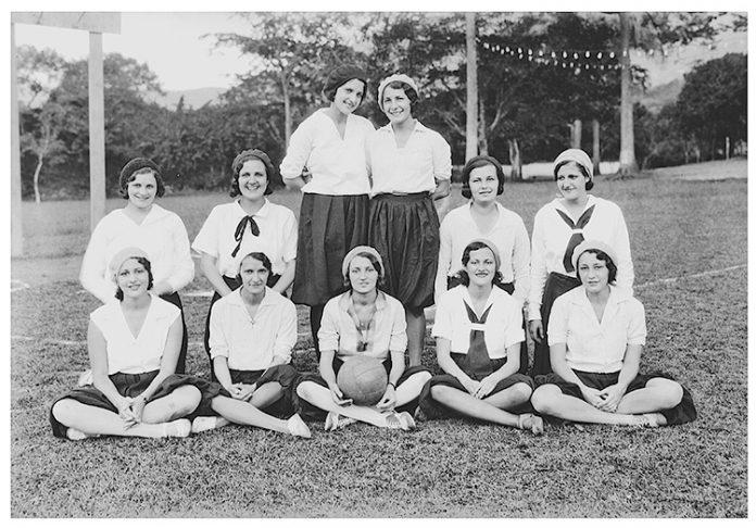 equipo de baloncesto femenino del Club Campestre.