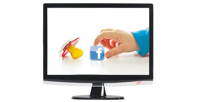 Niños en redes sociales ¡Mamá, quiero tener Facebook!