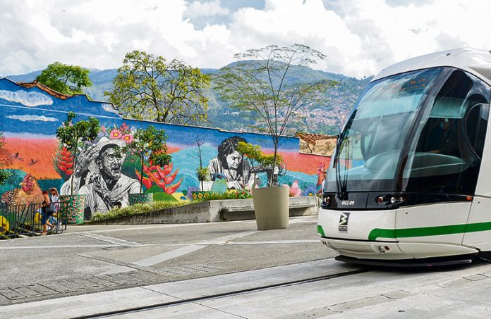 Arte urbano en Medellín