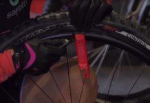llanta de la bicicleta