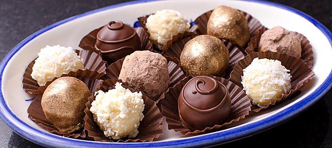 Chocolates para Amor y Amistad