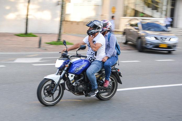Mototaxis en Medellín