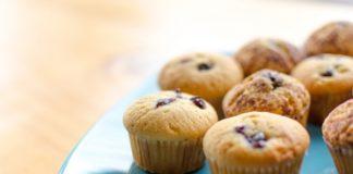 Muffins de miel rellenos de agraz