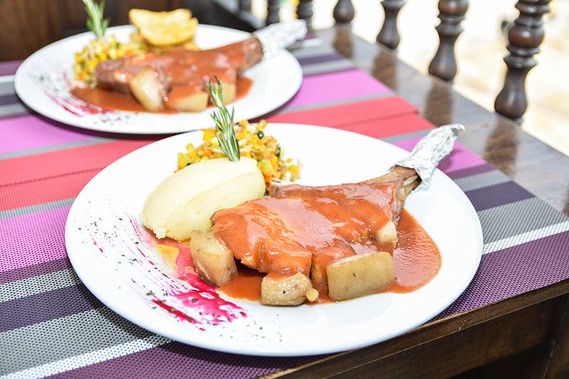 Restaurante Pimientos.