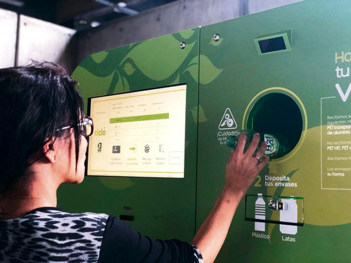 Reciclaje metro