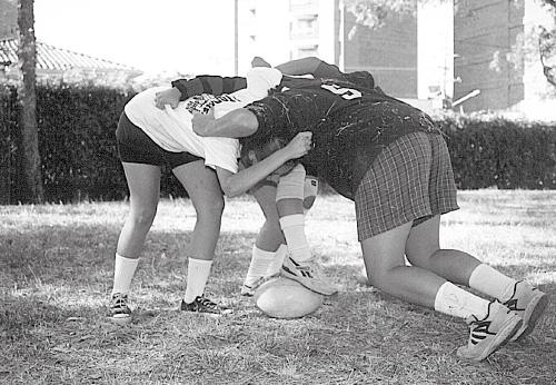 Rugby femenino en El Poblado