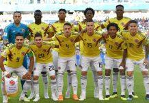 partido de Colombia en El Poblado