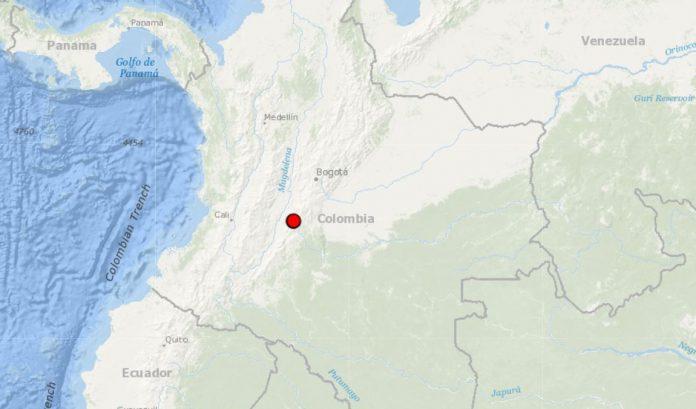 Temblor en Huila