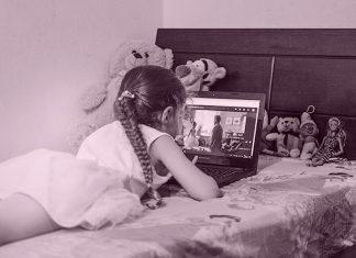 El uso de Internet de niños y jóvenes y